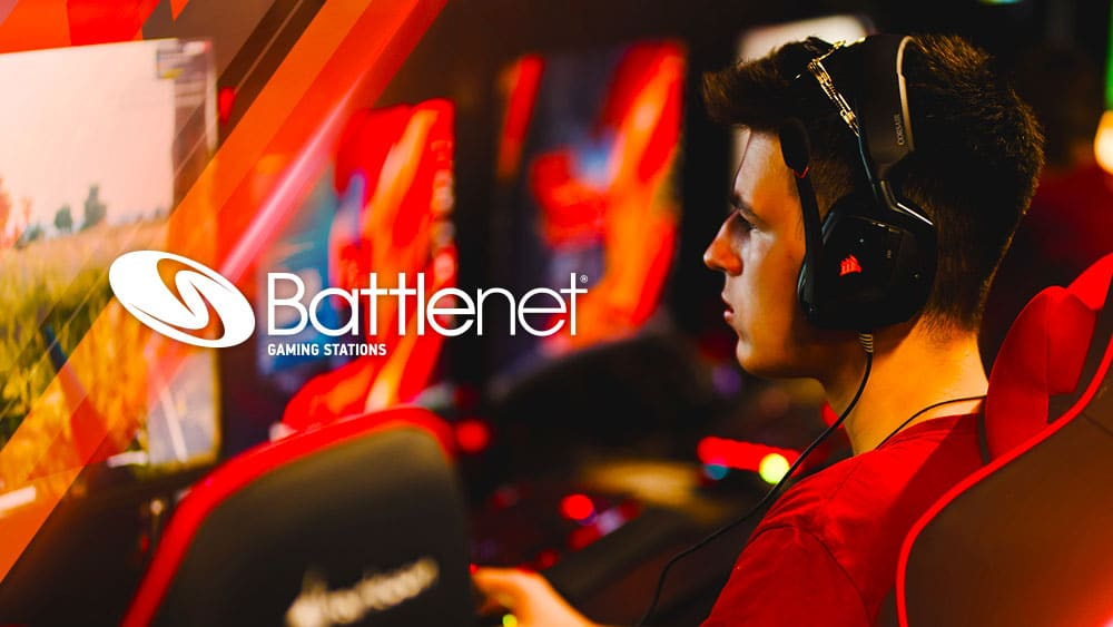 Battlenet Gaming Stations Powered By Asus